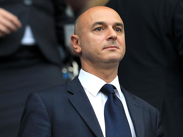 Tottenham Chairmen Daniel Levy during the Premier League match against Manchester City on May 10, 2011