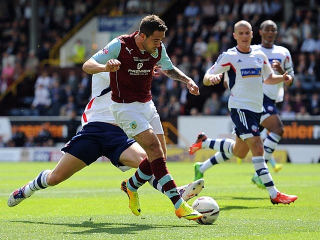 Result: Burnley, Bolton share the points