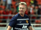 United boss David Moyes on the touchline on July 14, 2013