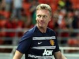 United boss David Moyes on the touchline on July 14, 2013