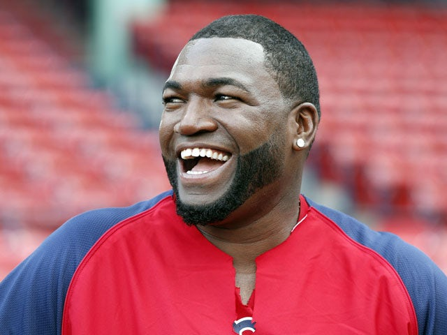 Boston Red Sox's David Ortiz before a baseball game against the Tampa Bay Rays on July 29, 2013