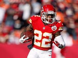 Kansas City Chiefs' Dexter McCluster in action on November 25, 2012