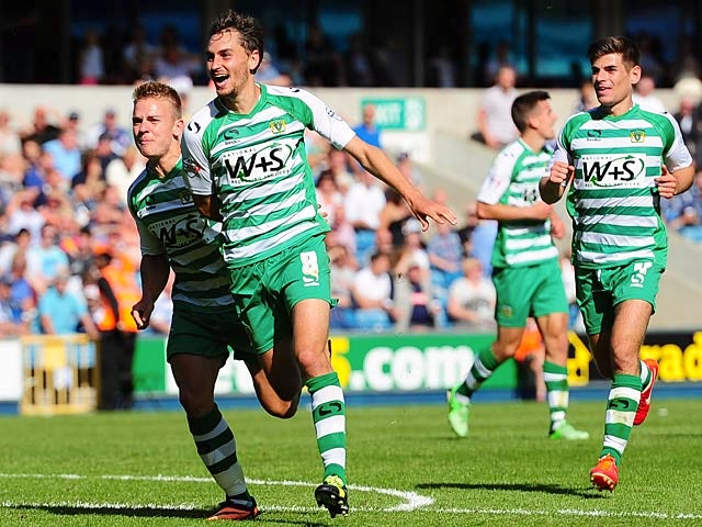 Result: Yeovil strike late to beat Millwall
