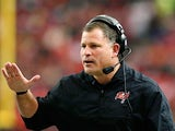 Tampa Bay Buccaneers head coach Greg Schiano on December 30, 2012