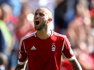 Lansbury hits hat-trick in Forest rout