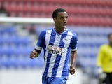 Wigan Athletic player James Perch on July 27, 2013