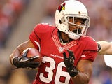 Arizona Cardinals' LaRod Stephens-Howling in action on December 23, 2012