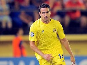 Villareal's Mario Gaspar in action on September 14, 2011
