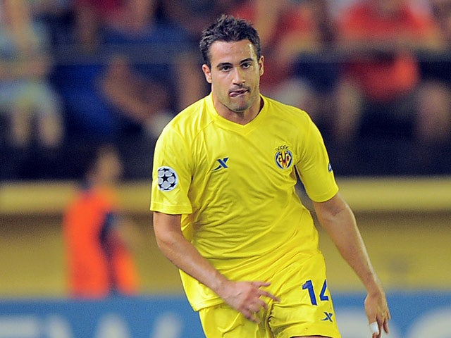 Villareal's Mario Gaspar in action on September 14, 2011