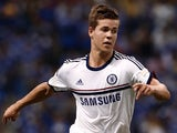 Chelsea's Marco Van Ginkel in action against Malaysia XI on July 21, 2013