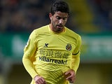 Villarreal's Mateo Musacchio in action on January 28, 2012