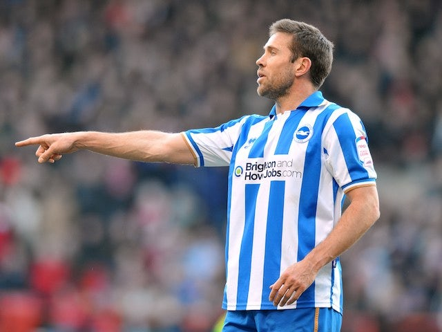 Brighton & Hove Albion's Matthew Upson on March 30, 2013