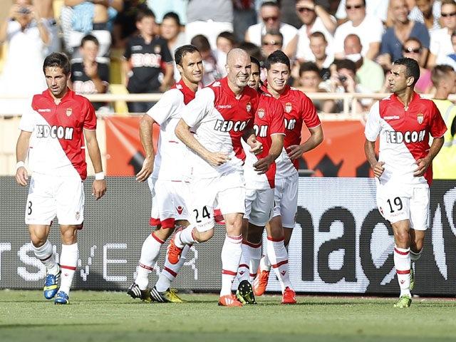 Result: Monaco put five past Spurs