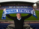 Wigan Athletic manager Owen Coyle on June 17, 2013