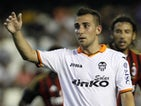 Valencia's Paco Alcacer during the match against AC Milan on July 27, 2013
