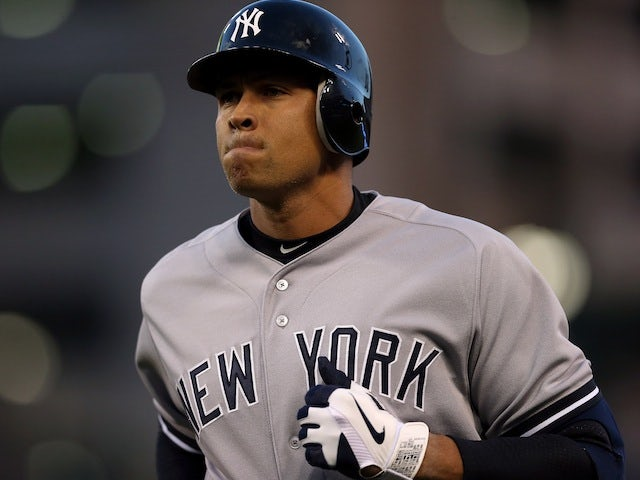 Alex Rodriguez of the New York Yankees on October 18, 2012