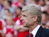 Arsenal manager Arsene Wenger on the touchline on August 4, 2013
