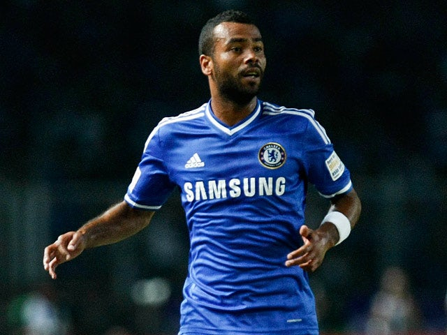 Chelsea's Ashley Cole in action during a friendly match against Indonesia All-Stars on July 25, 2013