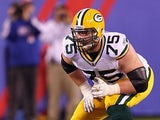Green Bay Packers' Bryan Bulaga in action on December 4, 2011