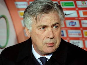 Ancelotti pleased with league position
