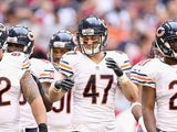 Free safety Chris Conte of the Chicago Bears during the NFL game against the Arizona Cardinals on December 23, 2012