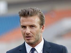 Beckham joins Ferguson for charity gala