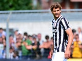 Juventus' Spanish forward Fernando Llorente looks on during their friendly match Juventus vs Aygrevilles on July 17, 2013
