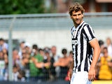 Juventus' Spanish forward Fernando Llorente looks on during their friendly match Juventus vs Aygrevilles on July 17, 2013