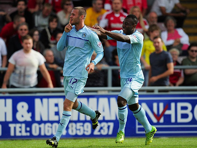 Result: Coventry defeat Bristol City in nine-goal thriller