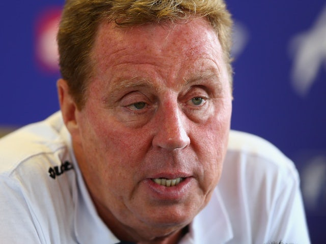 QPR manager Harry Redknapp at a press conference on August 2, 2013