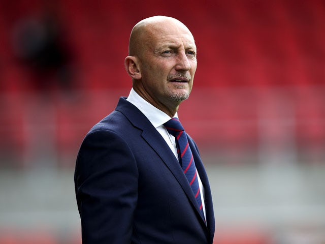 Crystal Palace manager Ian Holloway looks on during a pre season friendly match between Dagenham and Redbridge and Crystal Palace on July 20, 2013