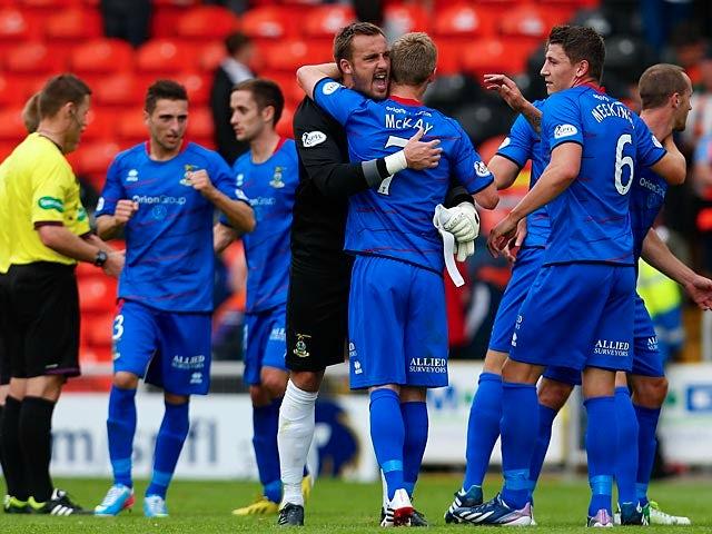 Result: Inverness edge past United