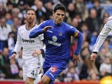 Getate's Jaime Gavilan in action against Real Madrid on January 27, 2013