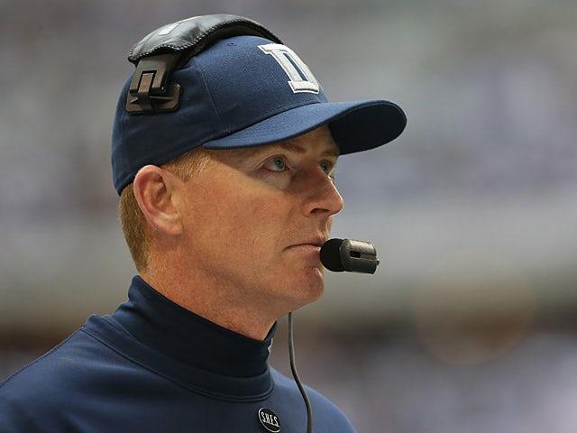 Dallas Cowboys head coach Jason Garrett on December 23, 2012