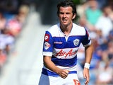 Queens Park Rangers' Joey Barton in action during the match against Sheffield Wednesday on August 3, 2013