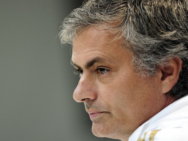 Real boss Jose Mourinho at a press conference on December 11, 2012