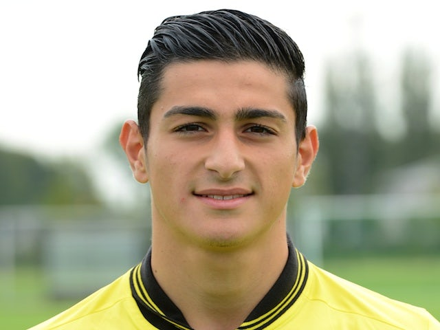 Dortmund's Koray Gunter at photocall on July 31, 2012