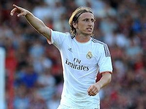 Real Madrid lead Copenhagen