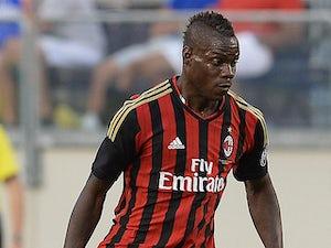 Team News: Balotelli starts for AC Milan