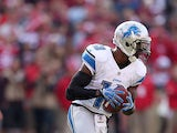 Detroit Lions' Nate Burleson in action on September 16, 2012