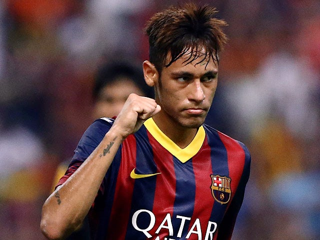 Result: Neymar scores in Barca win