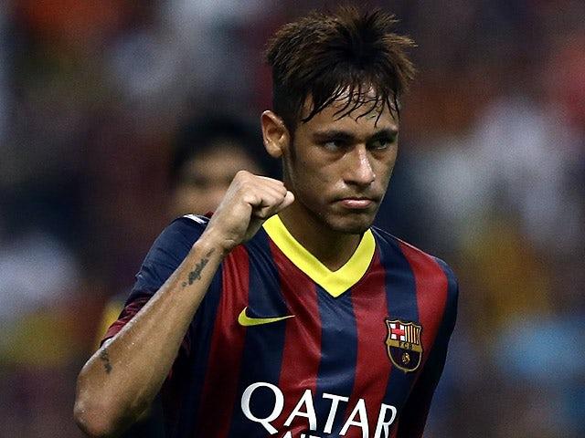 Result: Neymar scores in Barca win