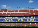 A general view of the Nou Camp home of FC Barcelona on April 27, 2009