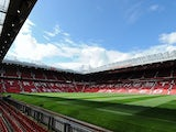 Manchester United's Old Trafford ground on August 29, 2009