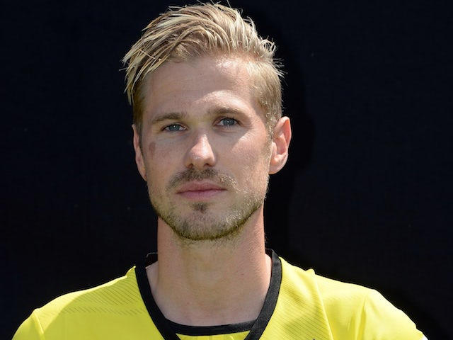Dortmund's Oliver Kirch at photocall on July 14, 2013