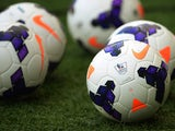 A picture of the new Premier League ball on August 1, 2013