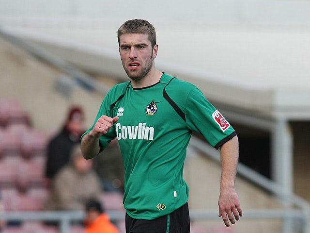 Bristol Rovers' Rickie Lambert in action on December 28, 2008
