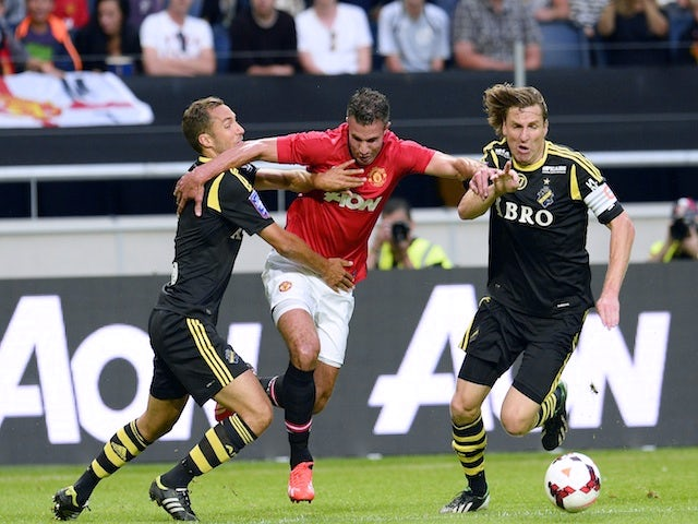 Result: Henriquez salvages United draw