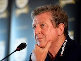 England manager Roy Hodgson during a press conference on June 1, 2013