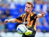 Hull City midfielder Stephen Quinn on July 27, 2013